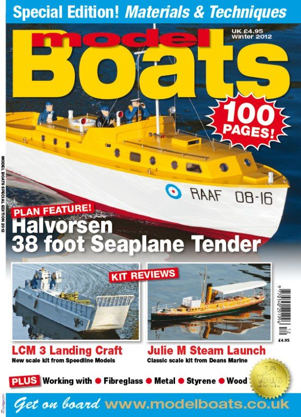 ... of the 2012 Winter Special issue of Model B oats on sale 26th October